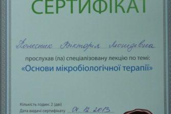 Колесник Виктория Леонидовна - сертификат-документ15