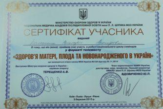 Колесник Виктория Леонидовна - сертификат-документ9