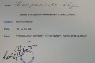 Компаниец Ольга Леонидовна - нефролог - остеопат 6